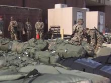 1,500 Fort Bragg soldiers deploy to Afghanistan