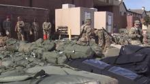 IMAGE: 1,500 Fort Bragg soldiers deploy to Afghanistan Tuesday