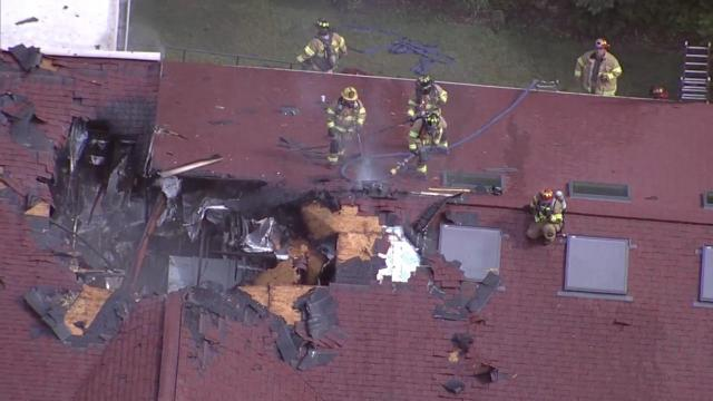 Fire damages roof at Chapel Hill retirement community