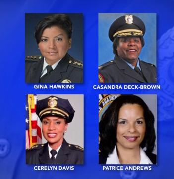 Increase in female police chiefs helps to better reflect communities