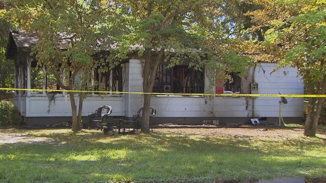 One person died late Wednesday when fire ripped through a Duplin County home.