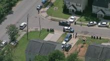 IMAGES: Woman suffers minor injuries in Raleigh shooting; suspect in custody