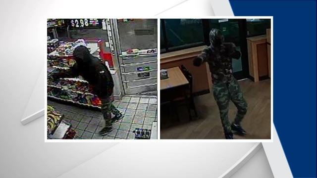 Police searching for men wanted in string of Fayetteville armed robberies
