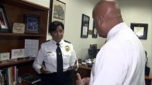 Gina Hawkins, incoming chief of police in Fayetteville