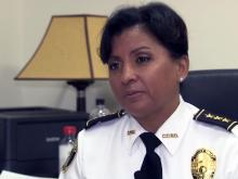 Fayetteville Chief of Police Gina Hawkins