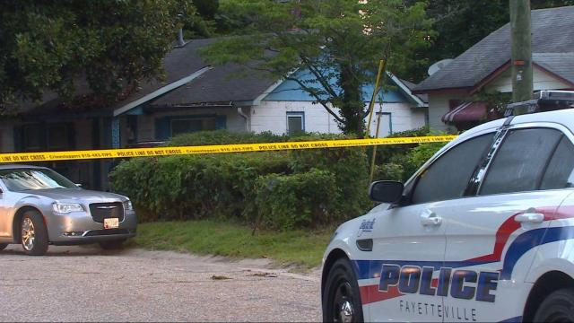 A man was in critical condition early Saturday morning after being shot at a Fayetteville home, police said.