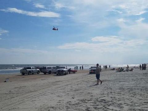 Missing Swimmer's Body Found At NC Coast