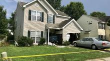 IMAGES: 'Distracted driver' crashes into northeast Raleigh home