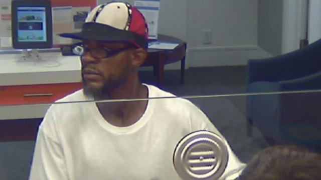 Police are searching for a man who robbed a Chapel Hill bank on Friday afternoon.