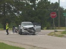 Man killed in motorcycle crash involving SUV in Fayetteville