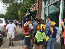 Thousands turn out for symbolic Venezuelan vote in Cary