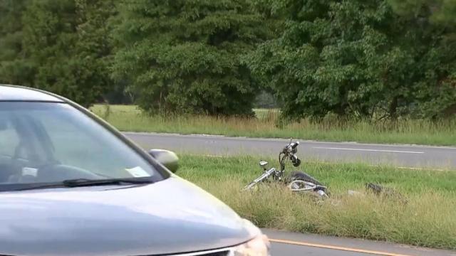 Man gravely injured in Raleigh motorcycle crash