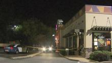Police searching for suspect after shooting at Taco Bell