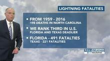 Maze: NC is 3rd deadliest state for lightning strikes
