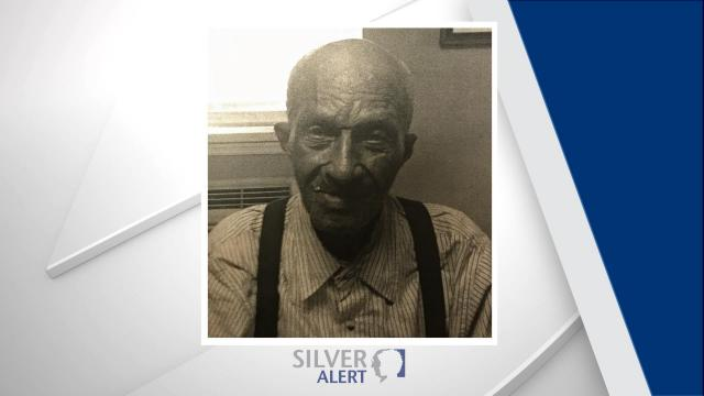 Authorities said James Alford was last seen at about 2 p.m. at the Red Springs Assisted Living facility in the 1300 block of East 4th Avenue.