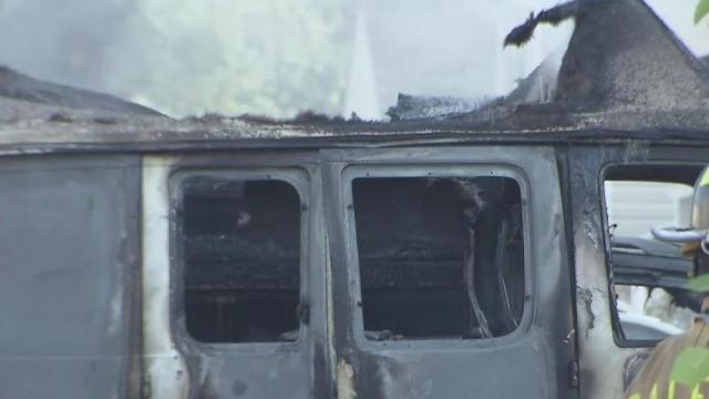 Family displaced, pets killed in massive Raleigh fire