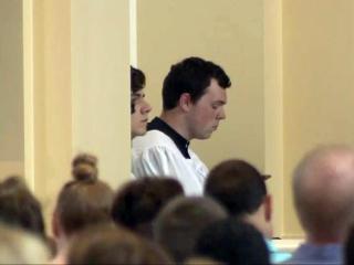 Seminarian studying to be Catholic priest