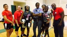 IMAGES: Raleigh police host 2nd annual volleyball camp