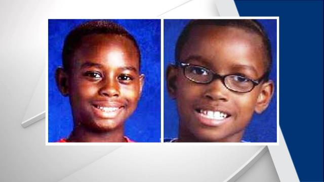 Authorities said 13-year-old D'Quan Thorton and 9-year-old Emanuel Wilson, 9, were last seen riding their bicycles in the 2400 block of Stephenson Street on Friday night.