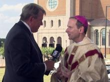 Bishop: 'Heaven came to Earth' in cathedral dedication