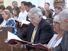 Catholics flock to cathedral dedication