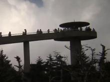 Clingsmans Dome in Swain County offers breathtaking views