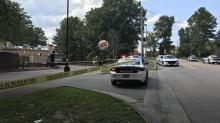 IMAGES: Man seriously injured in shooting on Alston Avenue in Durham