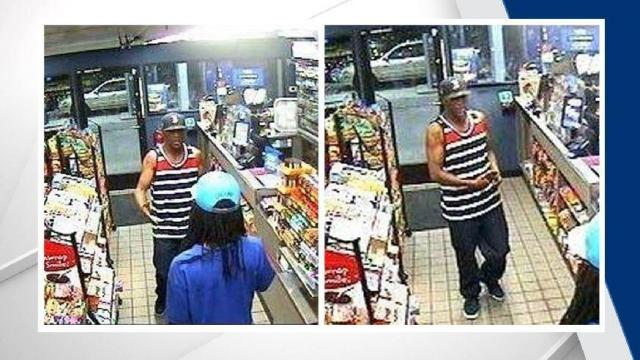 Police are trying to identify a man who has been accused of using stolen credit cards during a string of burglaries in southwestern Durham.