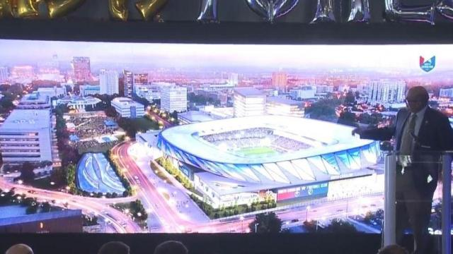 Raleigh mayor talks MLS in State of the City