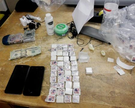 Department of Public Safety shows off contraband found at NC