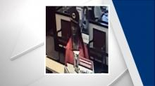 IMAGES: Man sought in Wilson bank robbery