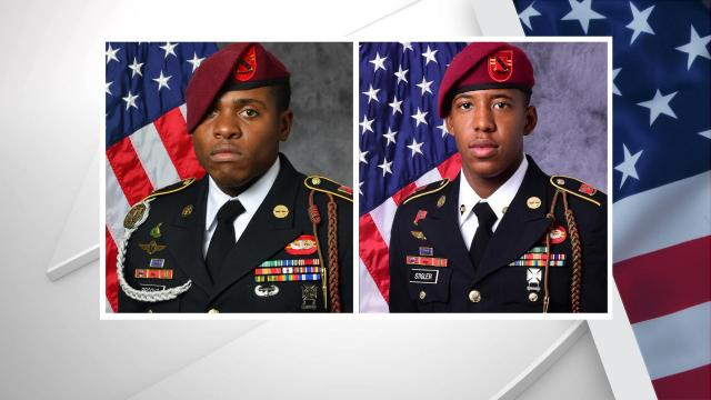 Two Paratroopers with the 82nd Airborne Division were killed Sunday in Iraq, according to the United States Army.