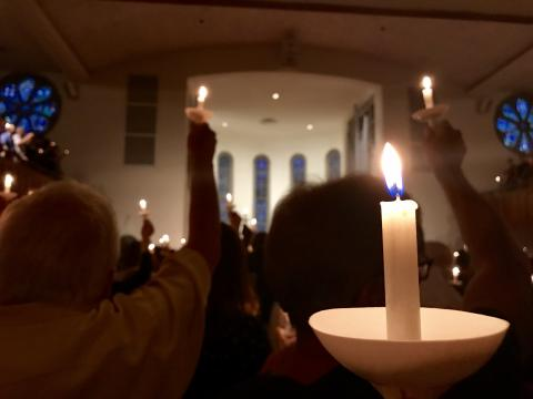 Raleigh vigil hopes to offer 'renewed hope' after Charlottesville violence