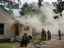 Dog saved, cat dies in Southern Pines house fire