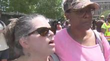 Black, white show unity in Durham rally