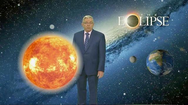Fishel explains the solar eclipse