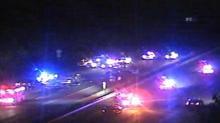 Multi-vehicle wreck shuts down US 70 in Durham