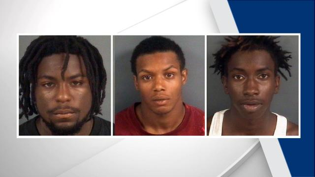 Four people have been charged in the Friday shooting death of a 52-year-old Fayetteville man.