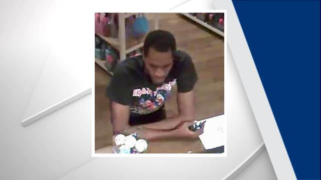 Fayetteville police are seeking public assistance in locating a man who used counterfeit money at several stores earlier this month.