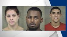 IMAGES: Three arrested, charged in Harnett County double murder
