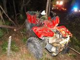 IMAGES: Critical injuries reported after ATV crash in Moore County
