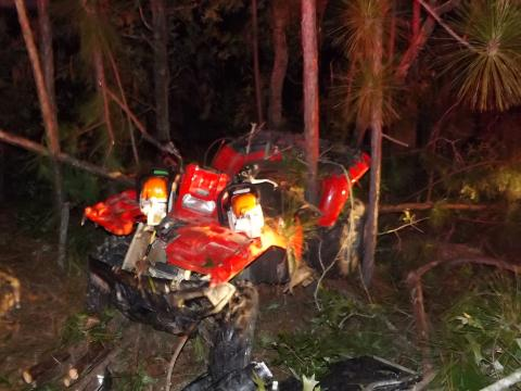 Critical injuries reported after ATV crash in Moore County