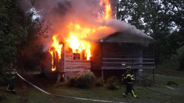 Empty Carthage home burns twice in 2 days