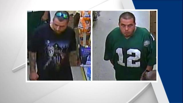 Fayetteville police are seeking public assistance in locating two men who they said robbed a woman at gunpoint Sunday morning.