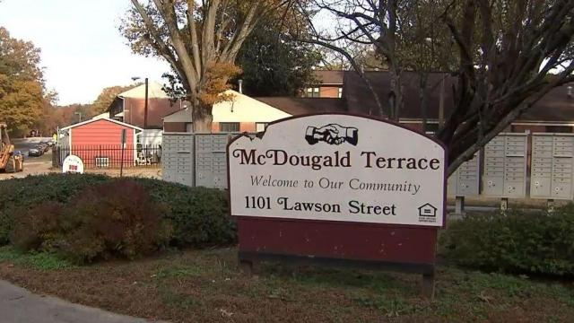 After 3 shootings in 4 days, Durham leaders want change for McDougald Terrace