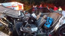 IMAGES: Serious injuries reported after head-on collision in Moore County