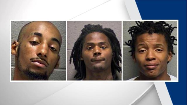 Three people have been arrested in connection with an August shooting that left one man seriously injured.