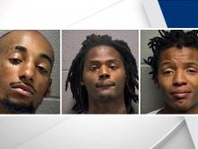 3 charged with shooting man walking to Durham store