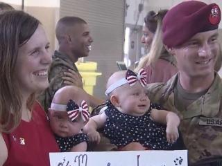 300 Fort Bragg paratroopers return home from deployment