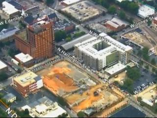 Six months later, city gives update on construction project that resulted in historic Raleigh fire